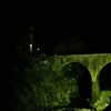 闇に浮かぶ荒瀬橋