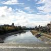 三条河原&御池通の朝のひと時