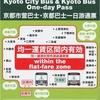 市バス・京都バス一日乗車券カード(2)