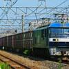 8月9日撮影 東海道線 平塚~大磯間 貨物列車3本
