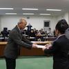 12日、福島商工団体連合会が賠償問題で県に要望書を出して交渉。