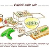 Cetrioli sotto sale「胡瓜の塩漬け」