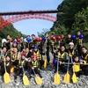 【奥多摩】多摩川ラフティングwindsで自然の中でラフティングしてきた!