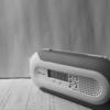 防災ラジオのモノクローム