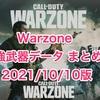 【Warzone】シーズン6強武器まとめ! 2021.10.10版