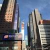 アメリカ駐在日記 | 建設中のセントラルパークあたりの高層ビル