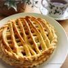 久しぶりにパイ生地から手作り!のアップルパイ