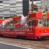 カープ、優勝記念花電車見れた!時間や、いつまで走るの?