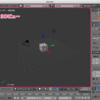 3Dビューの視点操作、グリッド設定:Blender