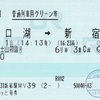 新春富士山初詣号 普通列車用グリーン券