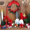 オシャレで暖かみのあるLarssons Traの木製クリスマス雑貨