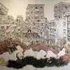 アートギャラリー環の野津晋也展「ここの山、隣の雲」を見る