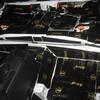 デミオのフロア防音デッドニング施工