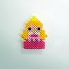 【アイロンビーズ】ディズニープリンセスより、オーロラ姫(眠れる森の美女)