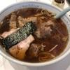 関内ラーメン横丁唐桃軒で醤油ラーメン+牛バラ