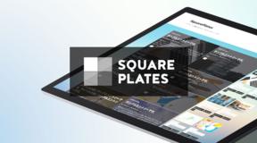アイキャッチ画像を背景に敷くはてなブログテーマ「SquarePlates」を公開しました