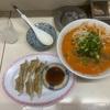 豚太郎・若松町店、坦々麺と餃子