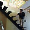 岐阜 鉄骨階段の塗装