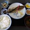 壁掛けの定食メニューを制覇する その7 @大網白里 まつや食堂 焼魚・コロッケ