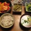 鶏肉と野菜のトマトソース炒め
