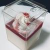 *お菓子工房SHIMIZU* 苺×ラズベリーソース いちごプリン 390円(税込) 【東京都台東区・浅草】