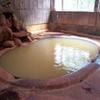 茶色の温泉を探せ