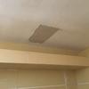 仕様が決まり、クロス前に、天井ボードが戻せました。