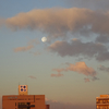 月と太陽のコラボレーションでフィナーレ!真冬の夜明け前ロングラン。