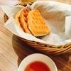 【マザーリーフ】紅茶とワッフルのお店でランチ