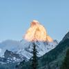 【スイス】ツェルマット一人旅 ー 夕焼けと朝焼けのマッターホルン