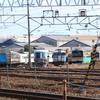 長野総合車両センター廃車置場周辺(10/19)