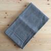 水切りカゴを手放して水切りマットに。「ジョージ・ジョンセン・ダマスク」のティータオル。
