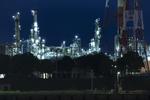 苫小牧の工場夜景! 製油所と製紙工場、二つの夜景を楽しむ。