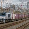 12月9日撮影 東海道線 平塚~大磯間 貨物列車 3075ㇾと2079ㇾ 185系を撮る