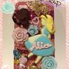 キャラパーツでデコiPhoneケースを作ってみたその13★不思議の国のアリス(ディズニー )★