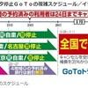 ドタバタ停止GoToの複雑スケジュール/イラスト - 日刊スポーツ(2020年12月16日)