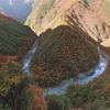 秋の祖谷渓ドライブ
