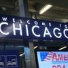 シカゴに着きました