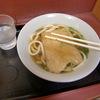 大阪・新梅田食堂街の「汐屋」できつねうどん。