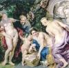 ルーベンスが描いた父親に乳房をふくませる娘