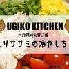 【UGIKO KITCHEN】一昨日のお昼ご飯−しっとりササミの冷やし中華−