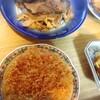 メンチカツ、茄子豚肉、鮪ソテー、玉子焼き