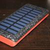 【iPhone6回充電可能!】RuiPu ソーラーチャージャー モバイルバッテリーが最強すぎる