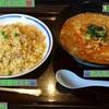 🚩外食日記(636)    宮崎ランチ   「中華屋 Jan」②より、【たんたん麺】【半炒飯セット】‼️