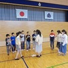 6年生:応援合戦の練習