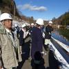 ため池の除染、森林再生事業の視察、農林水産常任委員会現地調査