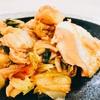 ホットクックレシピ 鮭とキムチ、キャベツ蒸し