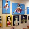 ギャラリー銀座フォレストの立澤香織個展を見る