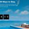 マリオット/SPGの統合記念キャンペーン「29 Ways to Stay」が始まるぞ!!抽選で1名に全29ブランドで2泊、毎日50pもらえるぞ!!