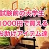 試験前の大学生【コンビニで1000円使い方】ざっくり自分なりに大紹介したろやないか!